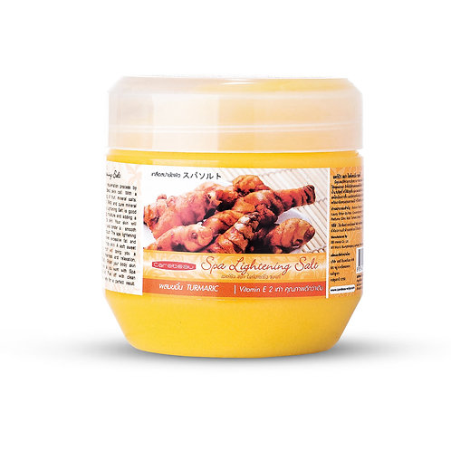 Солевой скраб/Carebeau Spa Lightening Salt Turmeric 700g
