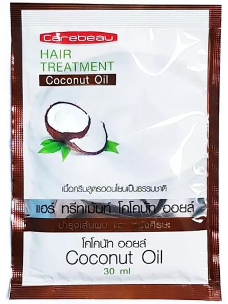 Маска для волос/Carebeau Hair Treatment Wax Coconut Oil,30ml