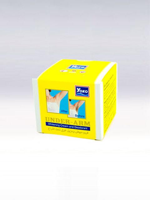 Дезодорант\YOKO UNDER-ARM WHITENING CREAM AND DEODORANT. 50g