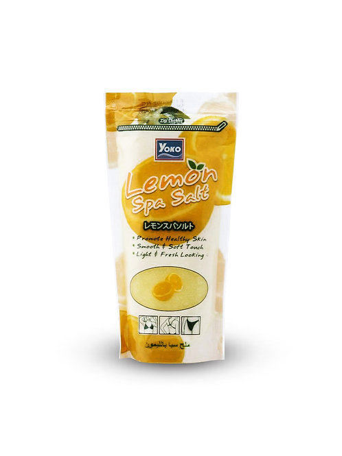 Скраб лимонный/YOKO LEMON SPA SALT. 300g