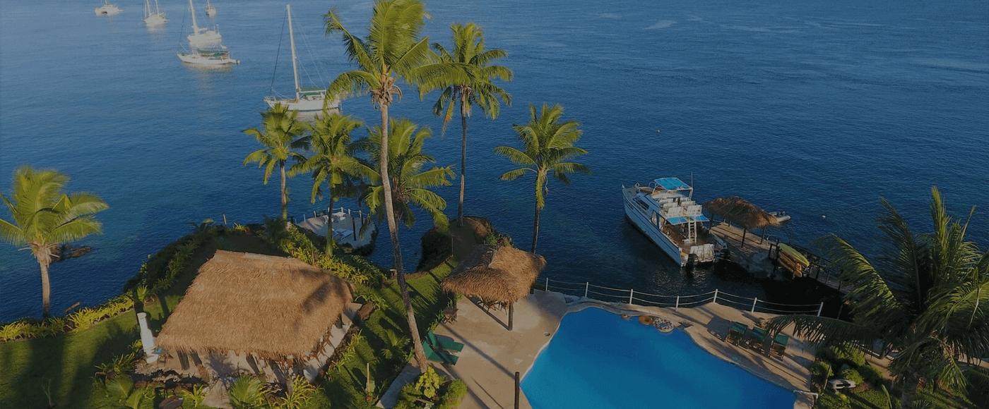 resort top view
