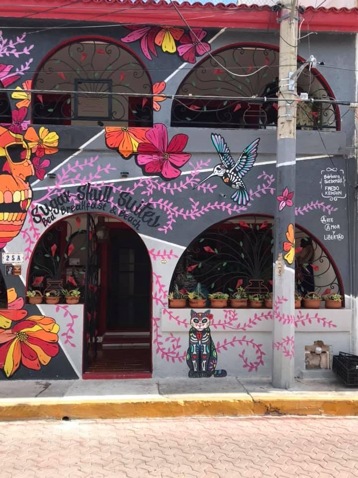 ISLA MUJERES, MEXICO (Sugar Skulls Suites)