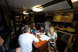 checking-in-galley-salon