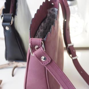 petit sac en cuir véritable fait main made in France