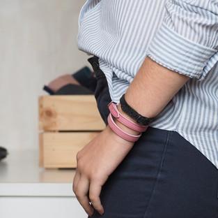 bracelet en cuir fabrication française