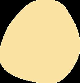 Forme abstraite jaune