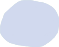 Forme ronde bleue