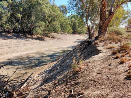 Dreamtime weavers hold water ceremony for the Darling River