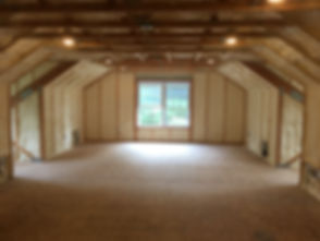 Bonus Room with Closed Cell Foam