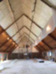 East Saugatuck Church Sanctuary - closed cell foam