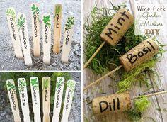 Faites vos étiquettes maison, en recyclant
