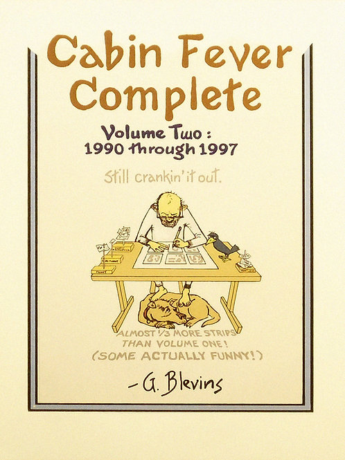 Cabin Fever Complete Volume 2