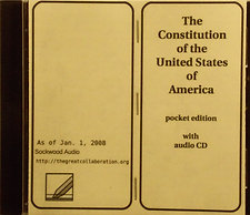 The U.S. Constitution audio CD
