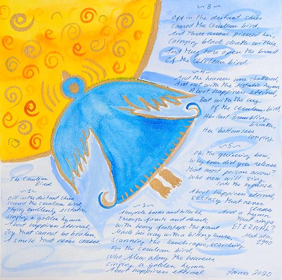 Mėlynas paukštis II