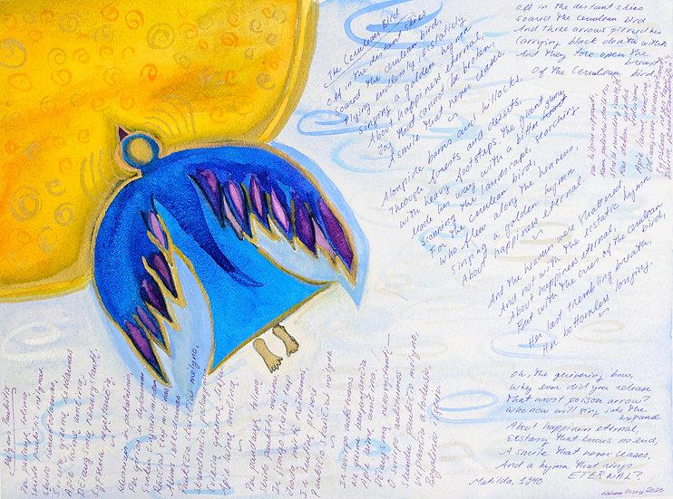 Matildos poema - mėlynas paukštis