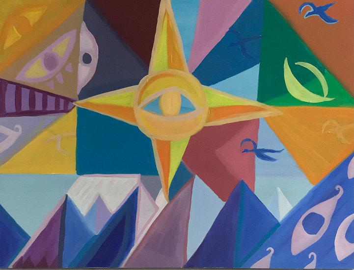 Saulės Grįžimas, 40 x 60