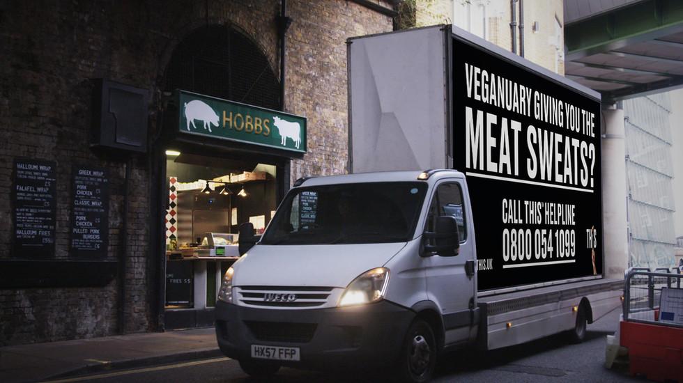 THIS Veganuary van