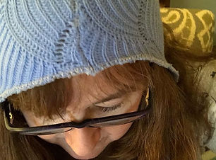Hat upcycled (by someone else) from a thrift store sweater. 16. Hat #FMS_hat #fmspad #litt