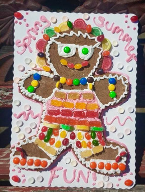 Summer Gingerbread Person