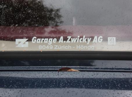 Bei der Garage A. Zwicky AG ist jedes Auto gut aufgehoben