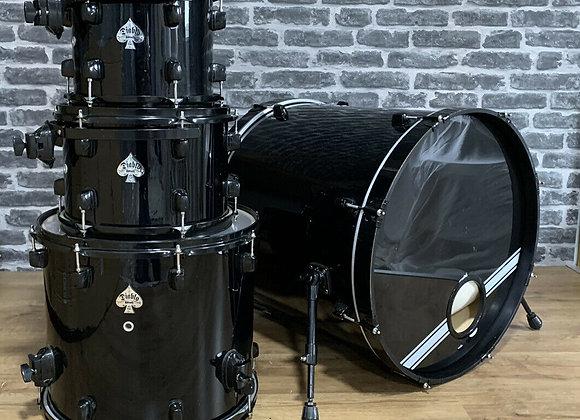 DDrum Diablo Drum Kit Shell Pack All Black #408