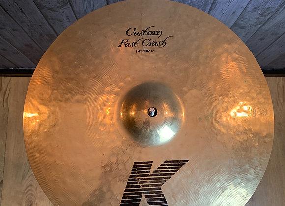 "Zildjian K Custom 14"" Fast Crash"
