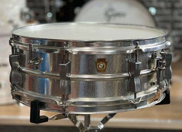 Ludwig 1960s Acrolite Vintage Pre-Serial Orange Peel Textured Snare Drum #397