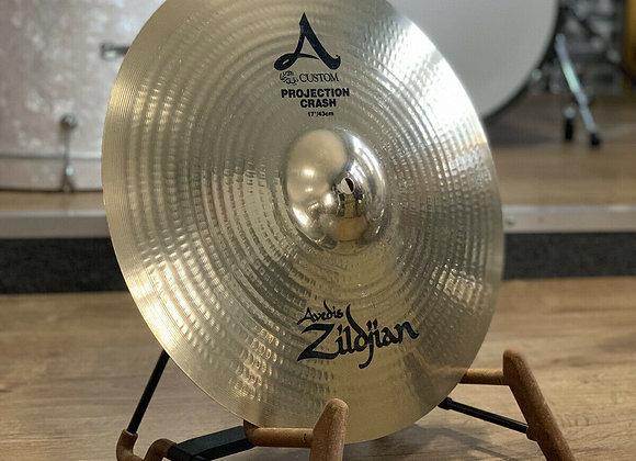 "Zildjian A Custom Projection 17"" Crash Cymbal #404"