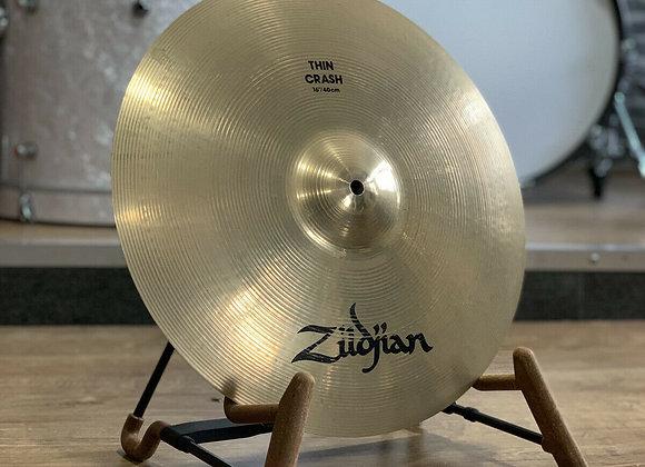 """Zildjian A Avedis 16"""" Thin Crash Cymbal #391"""
