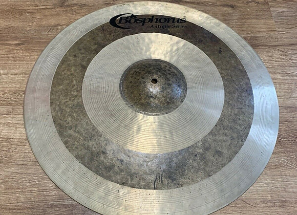 "Bosphorus 21"" Antique Series Thin Ride Cymbal #313"