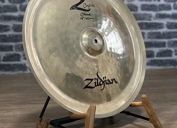 "Zildjian 18"" Z Custom China Chinese Cymbal #410"