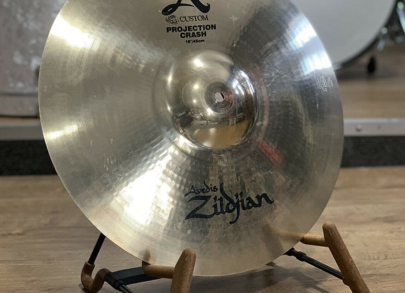 "Zildjian A Custom 18"" Projection Crash #413"