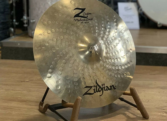 "Zildjian Z Custom 16"" Medium Crash Cymbal #379"