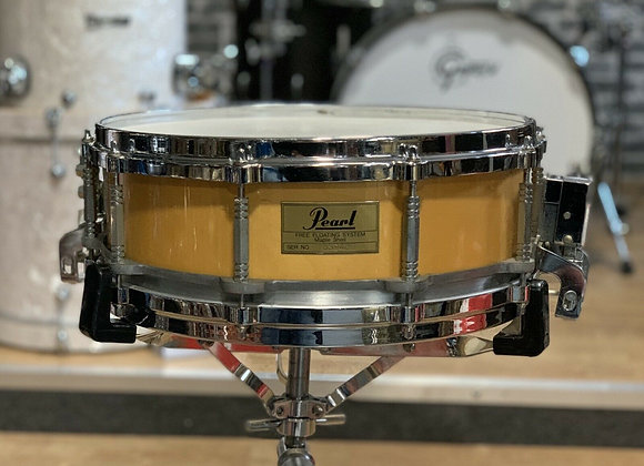"Pearl 14"" Free Floating Maple Snare Drum #417"