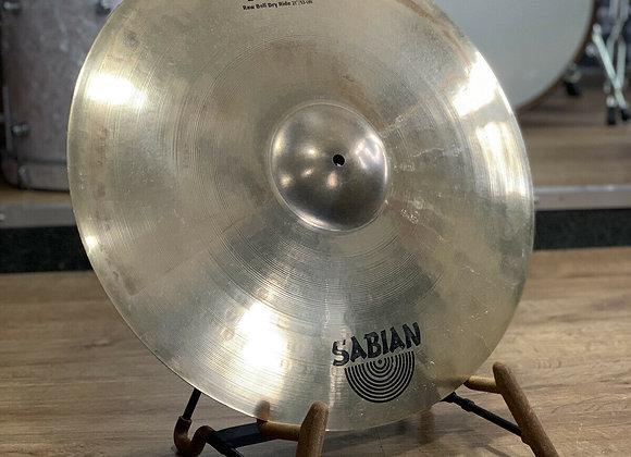 "Sabian 21"" AAX Raw Bell Ride Cymbal #384"