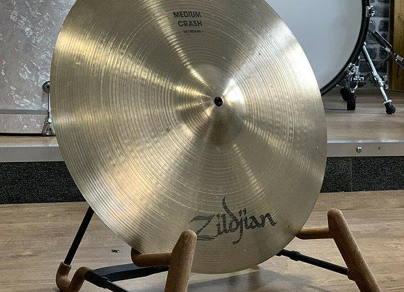 "Zildjian A Avedis 16"" Medium Crash Cymbal #391"