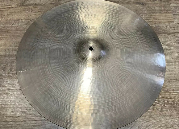 Paiste 2002 Ride Black Label 18 inch Ride Cymbal #344