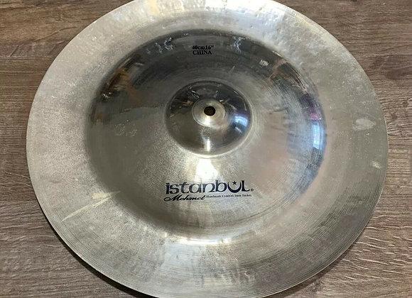 "Istanbul Mehmet Samatya 16"" China Cymbal #312"