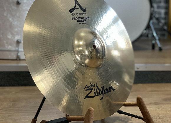 "Zildjian A Custom Projection 18"" Crash Cymbal #404"