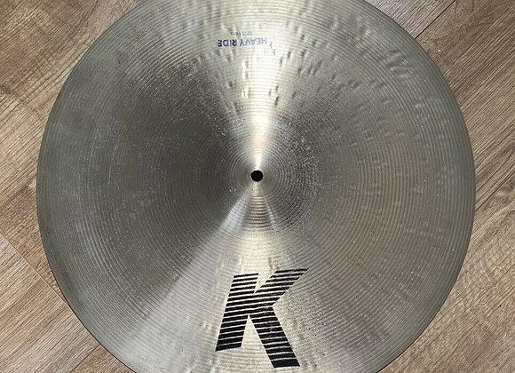 """Zildjian K Heavy 20"""" Ride Cymbal #412"""
