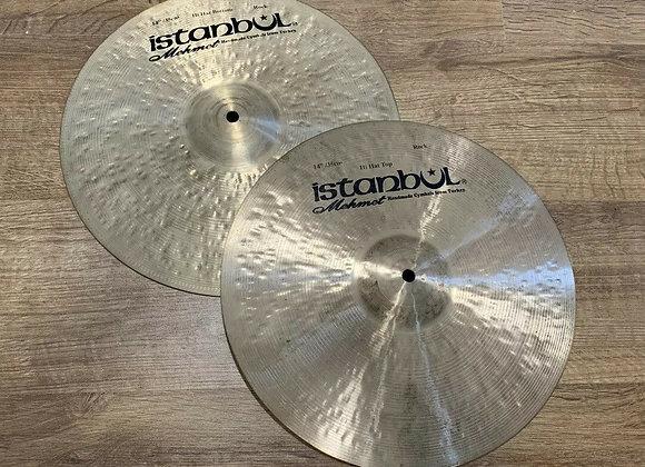 "Istanbul Mehmet Rock 14"" Hi- Hat Cymbals #349"
