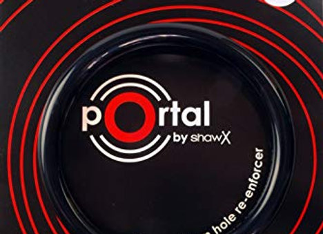 Shaw Portal 5 inch Drum Mic Hole Re-Enforcer - Black