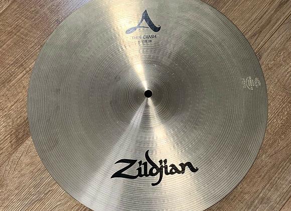 """Zildjian 16"""" Avedis Thin Crash Cymbal #412"""