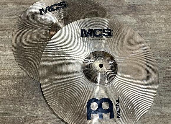 """Meinl HCS 14"""" Hi Hat Cymbals #413"""