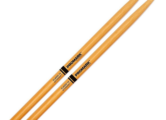 Promark Classic 7A ActiveGrip Clear Drumsticks