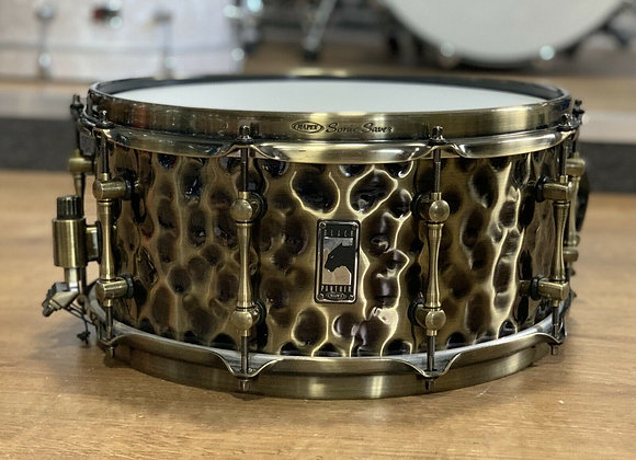 Mapex Black Panther Sledgehammer Brass Shell Snare Drum 14x6.5 #407