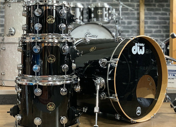 """DW Collectors Series Drum Kit Fusion Sizes 20"""" Bass Drum (Dated 1996) #397"""