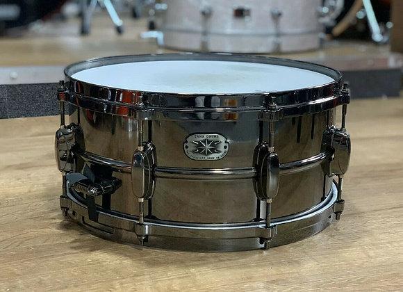 Tama MT1465DBN Metalworks Snare Drum Black Nickel Metal Shell #350