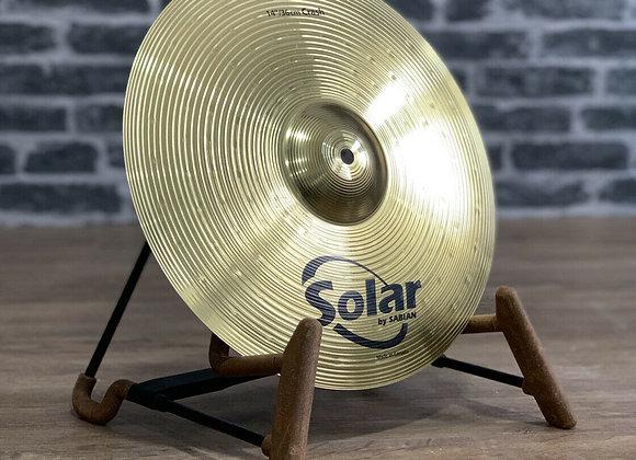 "14"" Sabian Solar Crash Cymbal #412"