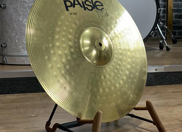"""20"""" Paiste 101 Ride Cymbal #407"""